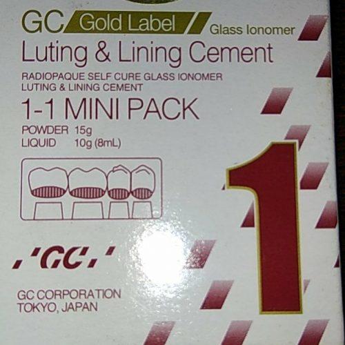 Gc Gold Label 2 Universal Restorative: GC Gold Label 2 Restorative-Mini Pack
