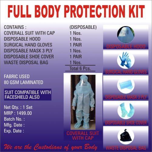 FULL BODY PROTECTION KIT